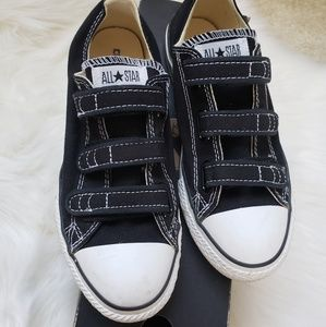 Velcro 3 straps Converse Shoe